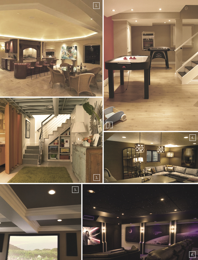 Semi finished basement ideas home design - Unfinished basement design ...