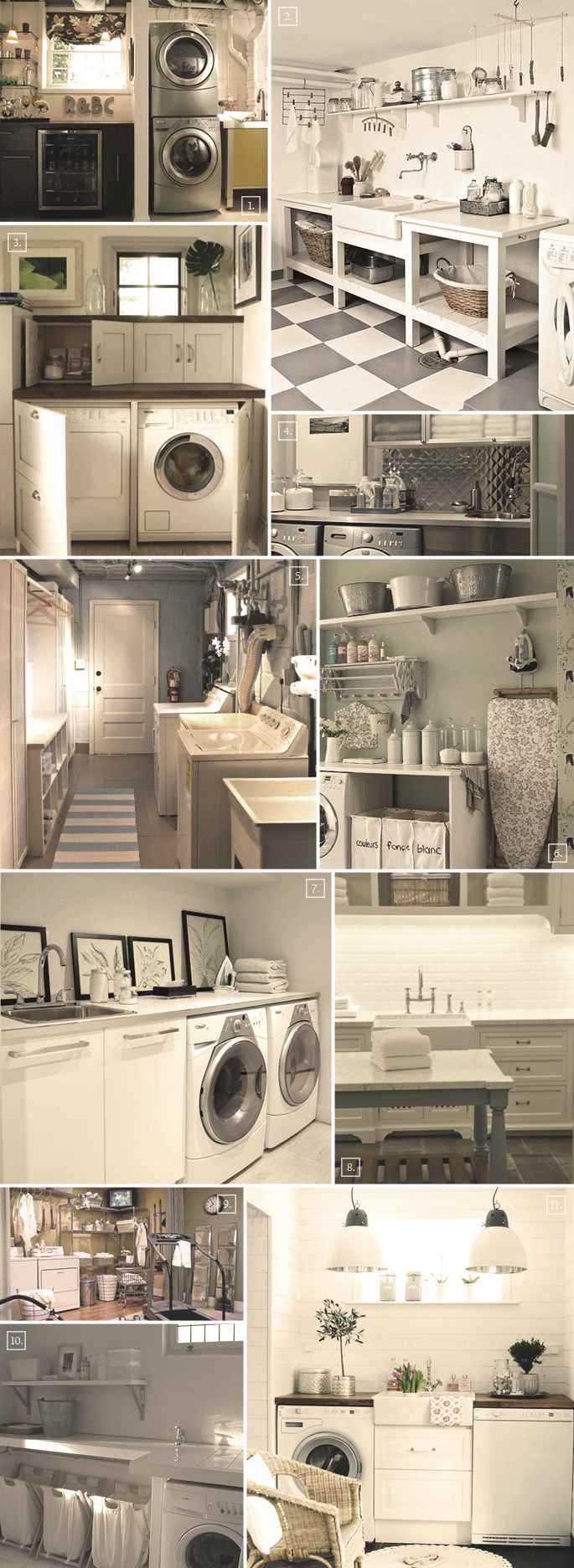Design Ideas For That Perfect Basement Laundry Room | Home Tree Atlas