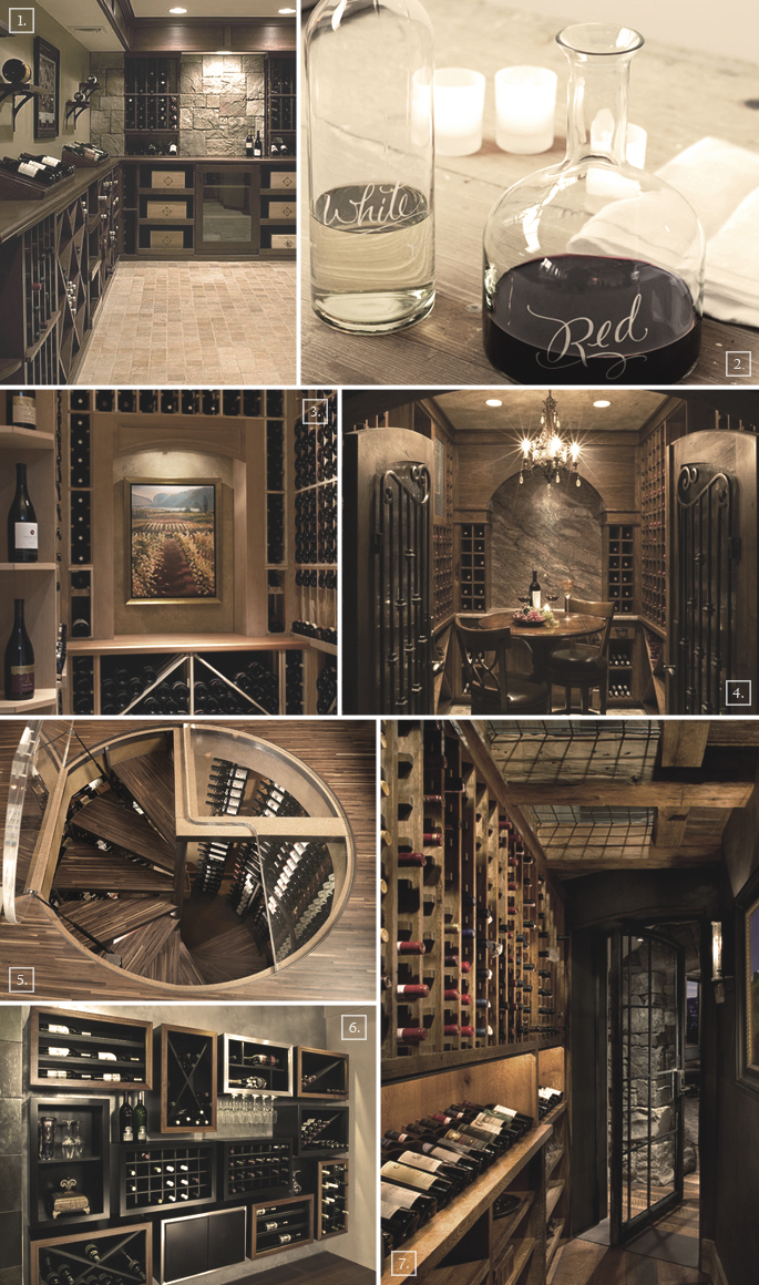 There Are 3 Types Of Wine Cellars That Can Be Designed To Fit A