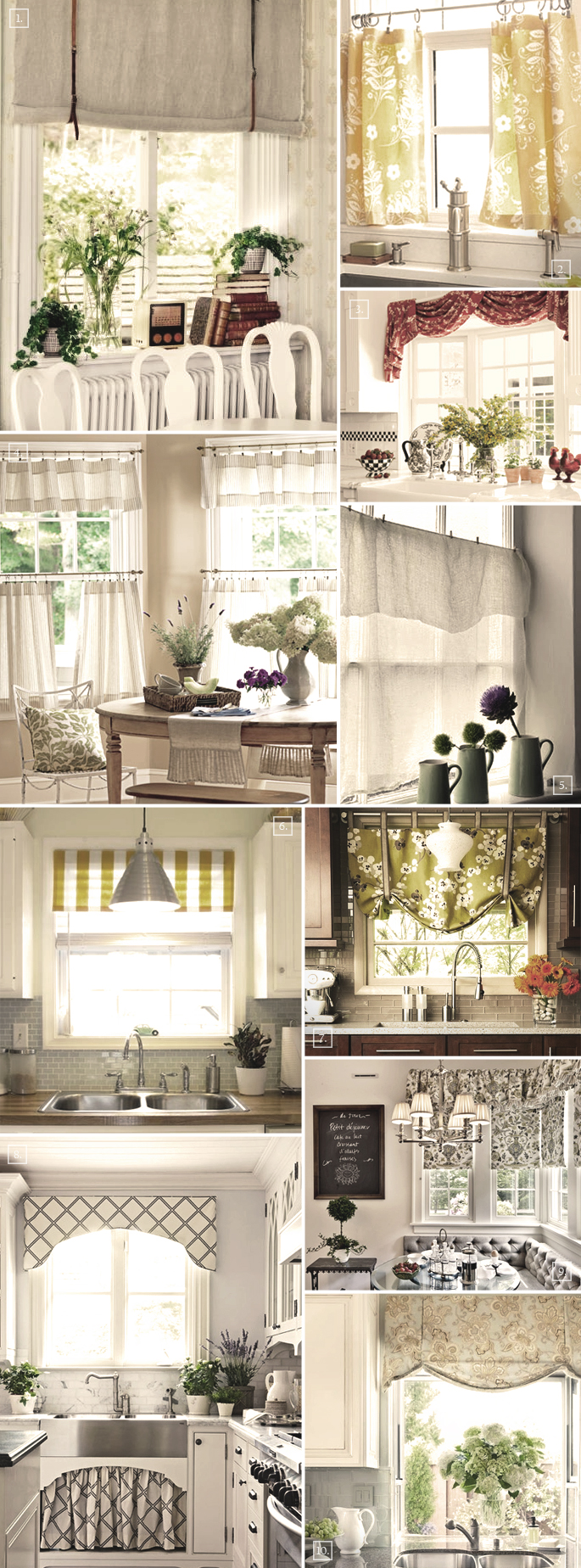 Curtain Designs Ideas: Decorating The Windows With These Kitchen Curtain Ideas