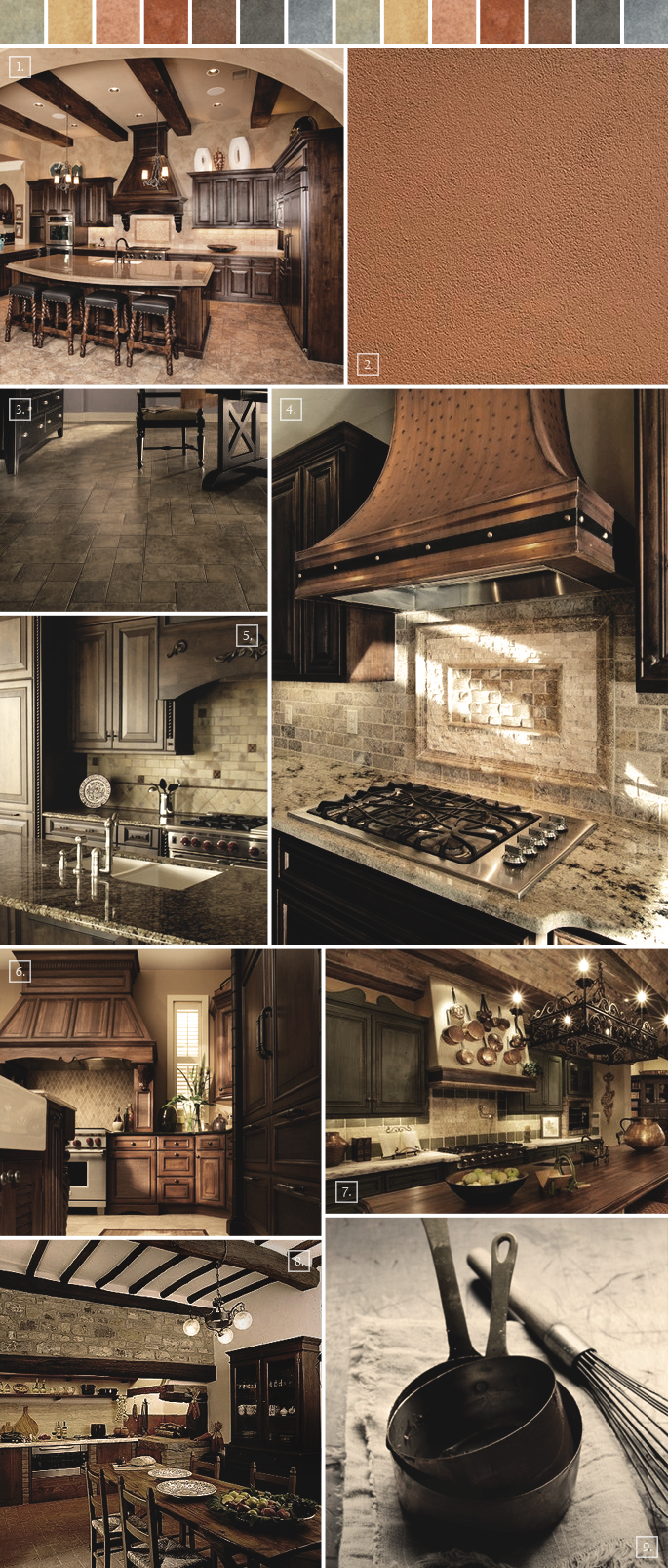 Tuscan Kitchen Decor Ideas Mood Board | Home Tree Atlas