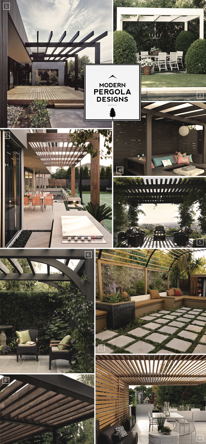 modern pergola plans joy studio design gallery best design. Black Bedroom Furniture Sets. Home Design Ideas