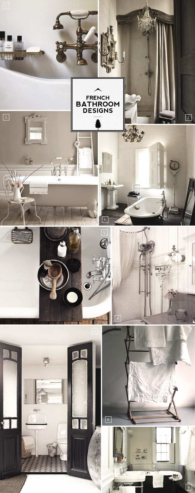 French Style Bathroom Decor and Designs | Home Tree Atlas