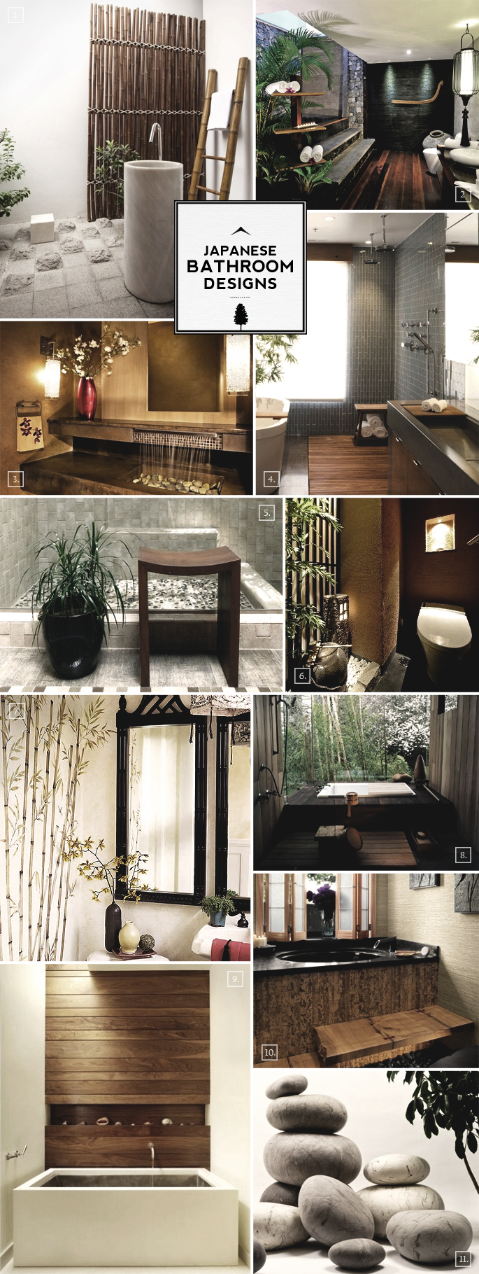 Zen bathroom designs photos joy studio design gallery for Bathroom ideas japanese