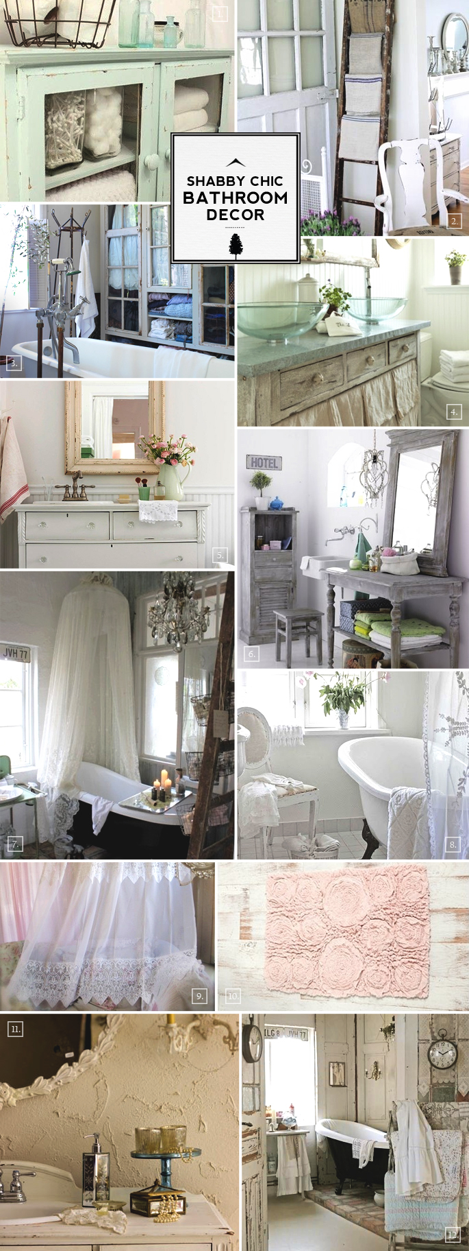 Shabby chic bathroom cabi furniture bathrooms for trend - Shabby chic storage ideas ...
