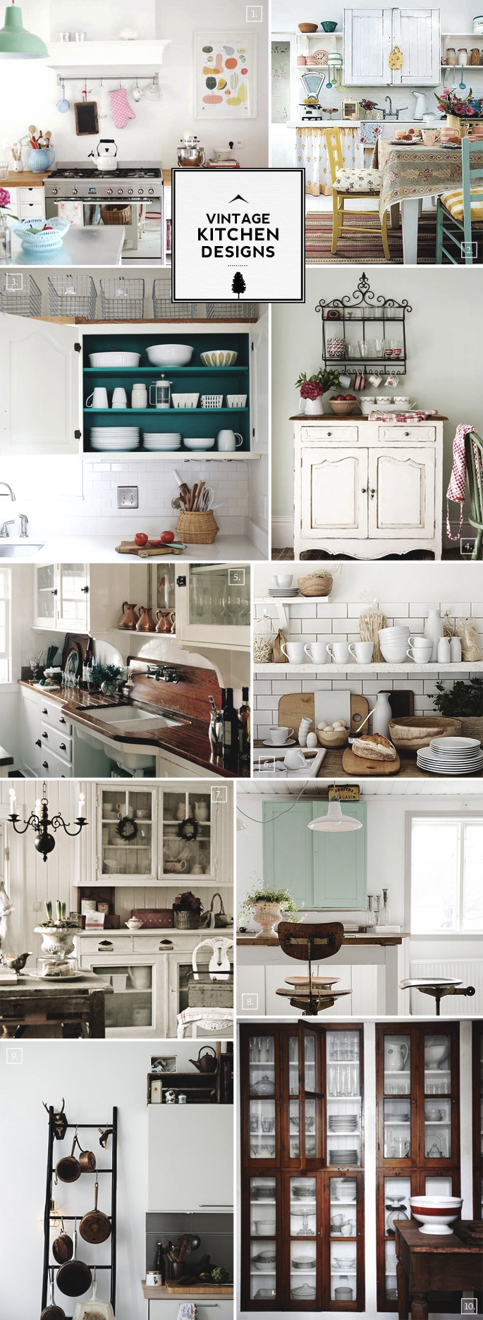 Vintage Kitchen Ideas: Vintage Kitchen Design, Accessories, And Decor Ideas