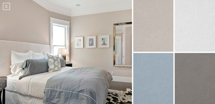 neutral paint colors for bedroom brown hairs